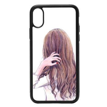 کاور طرح دخترانه کد 7140 مناسب برای گوشی موبایل اپل iphone x/xs
