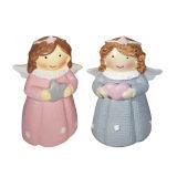 مجسمه طرح فرشته مدل کاراجا مجموعه 2 عددی