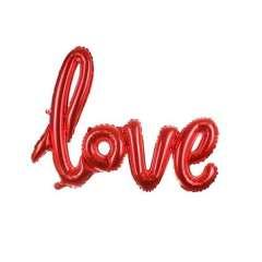 بادکنک فویلی طرح Love مدل SN_40