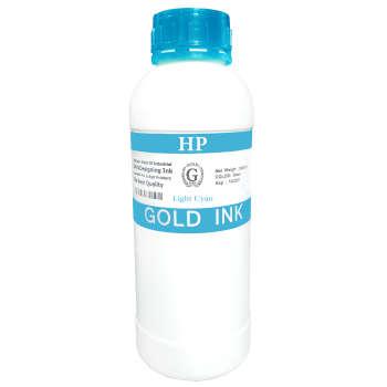 جوهر آبی روشن مخزن اچ پی یک لیتری مدل گلد