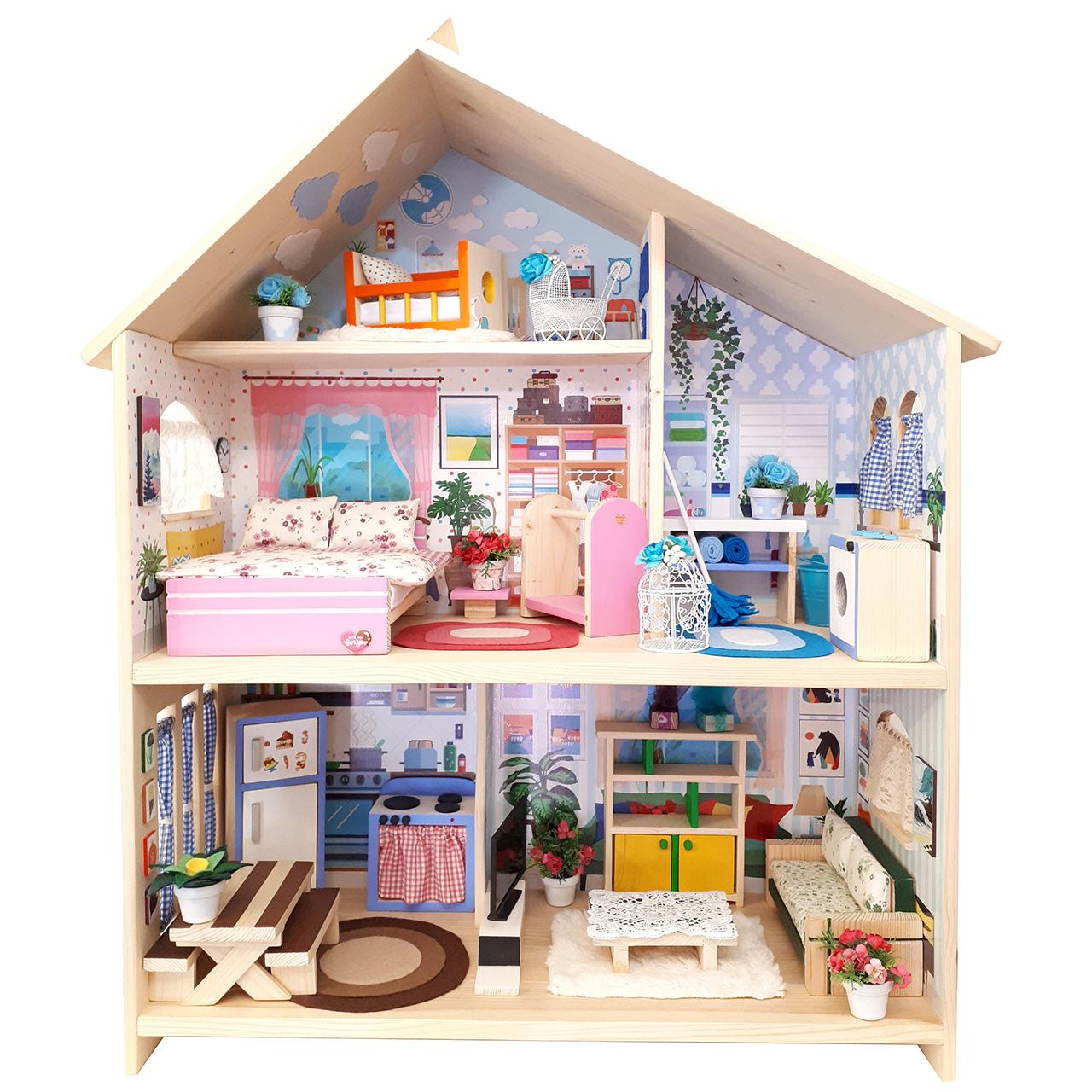 اسباب بازی خانه عروسک کد 003