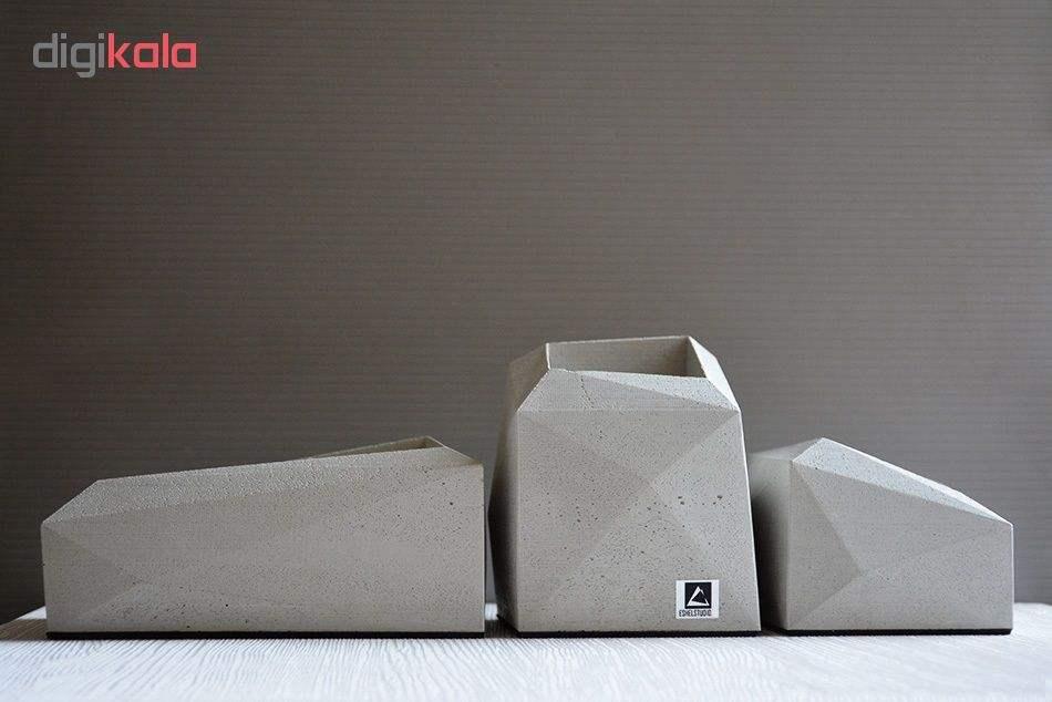 گلدان  استودیو اشل مدل E1 مجموعه 3 عددی main 1 3