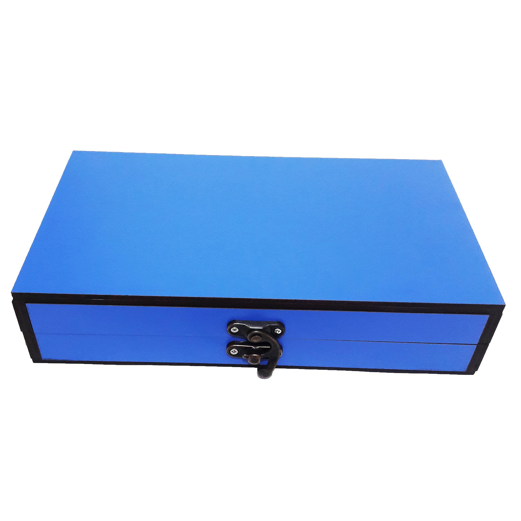 جعبه هدیه چوبی کادو آیهان باکس مدل 34