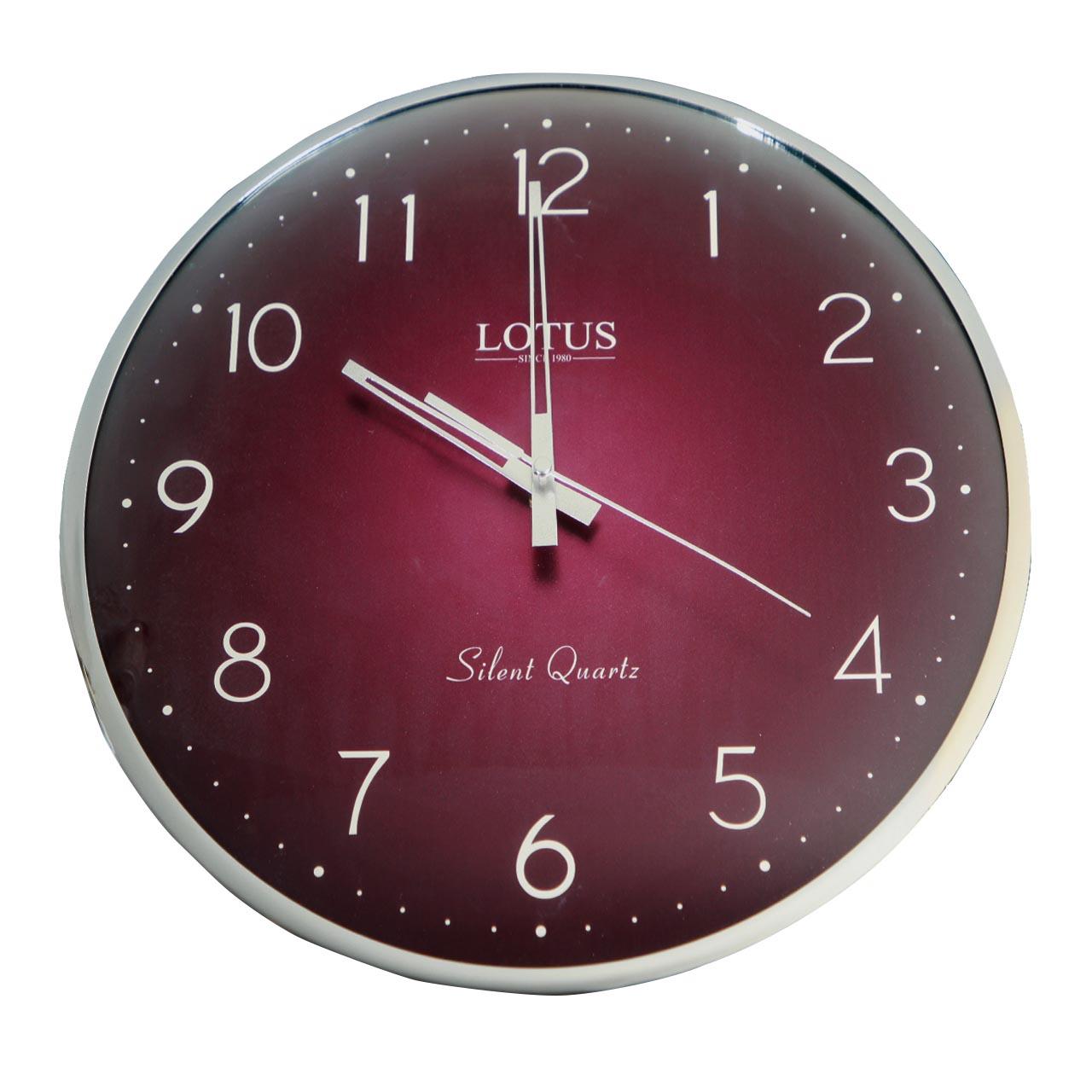 ساعت دیواری لوتوس مدل HARRY-M-6611