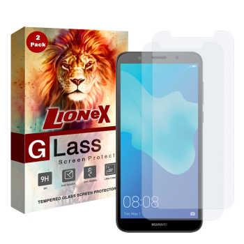 محافظ صفحه نمایش لایونکس مدل UPS مناسب برای گوشی موبایل هوآوی Y5 2018 / Y5 Prime 2018 بسته دو عددی