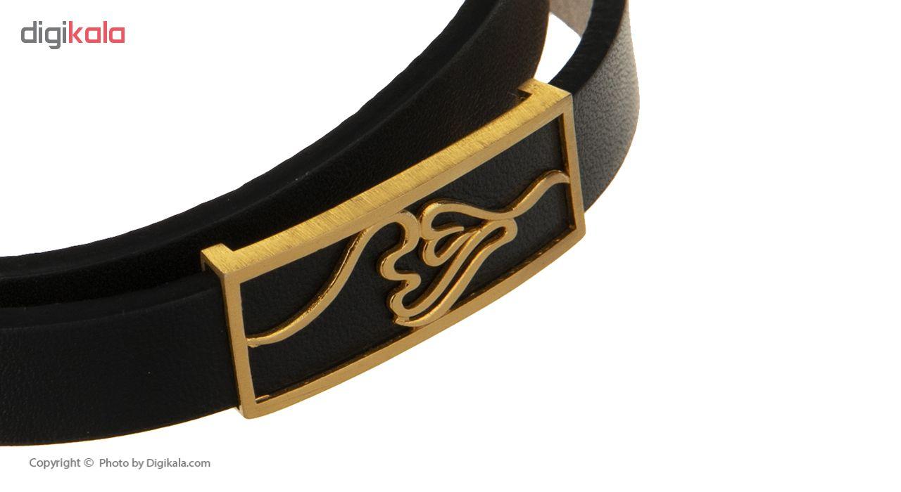 دستبند مردانه تاج درسا مدل 132