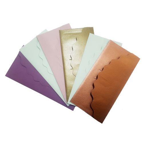 پاکت هدیه پول طرح رایدین بسته 6 عددی