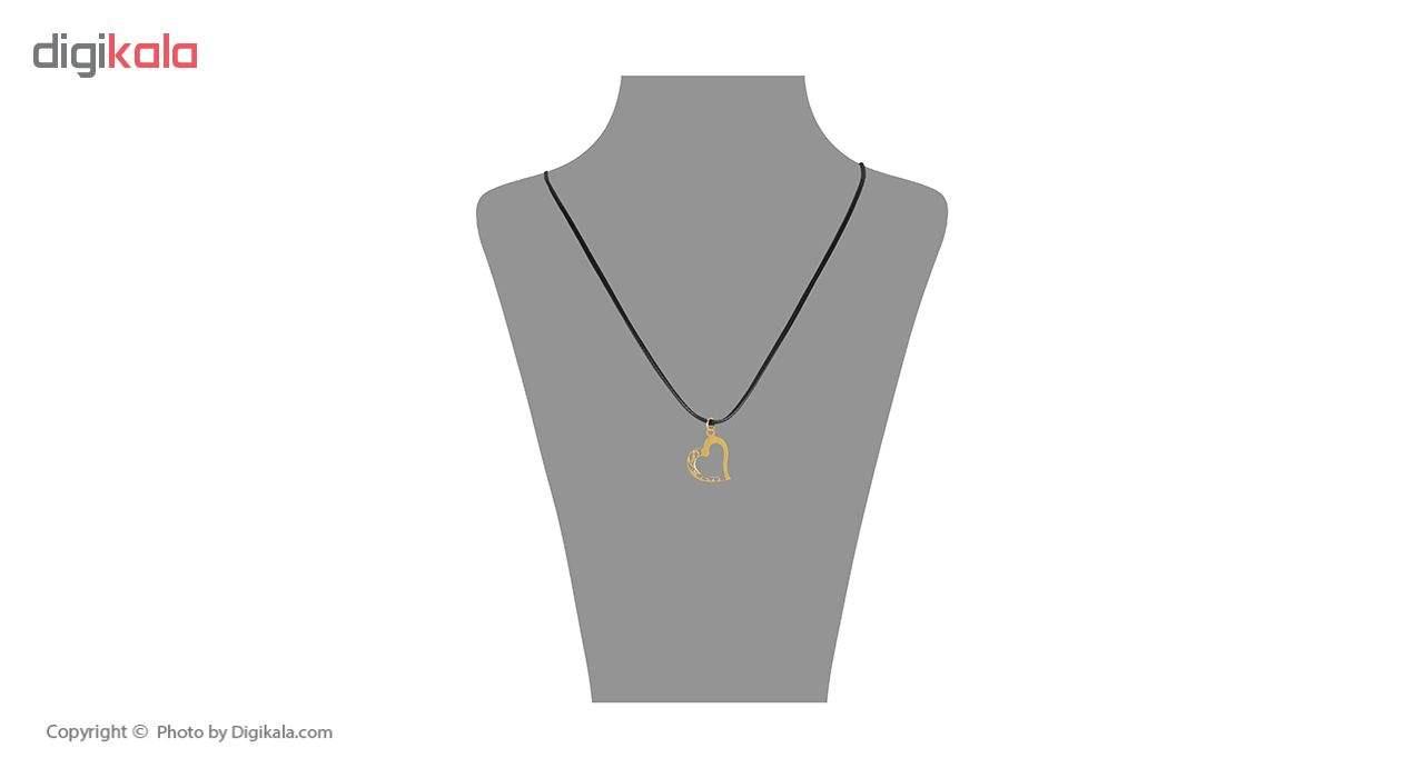 گردنبند طلا 18 عیار زنانه مایا ماهک مدل MM0904 -  - 1