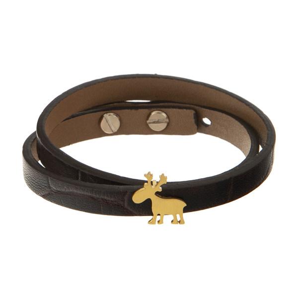 دستبند طلا 18 عیار زنانه تاج درسا مدل 554