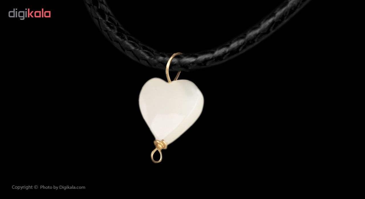 گردنبند طلا 18 عیار زنانه مایا ماهک مدل MM0888 -  - 2