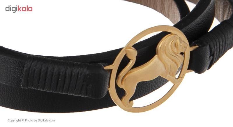 دستبند طلا 18 عیار زنانه تاج درسا مدل 162