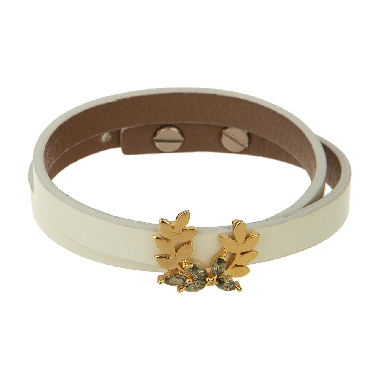 دستبند طلا 18 عیار زنانه تاج درسا مدل 572