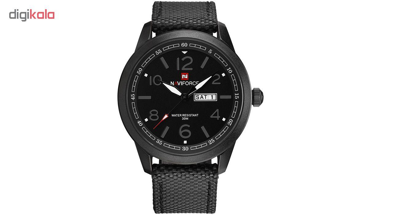 خرید ساعت مچی عقربه ای مردانه نیوی فورس مدل NF9101 BGYB