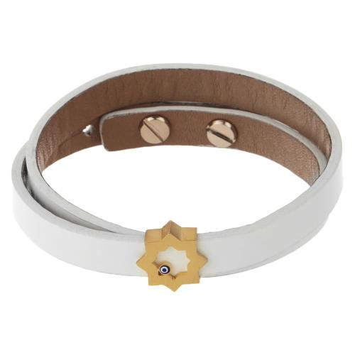 دستبند طلا 18 عیار زنانه تاج درسا مدل 211