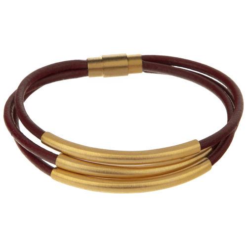 دستبند طلا 18 عیار زنانه تاج درسا مدل 406