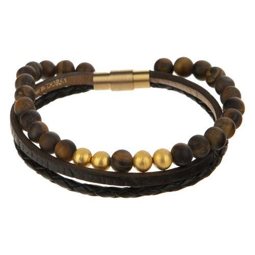دستبند طلا 18 عیار مردانه تاج درسا مدل 273
