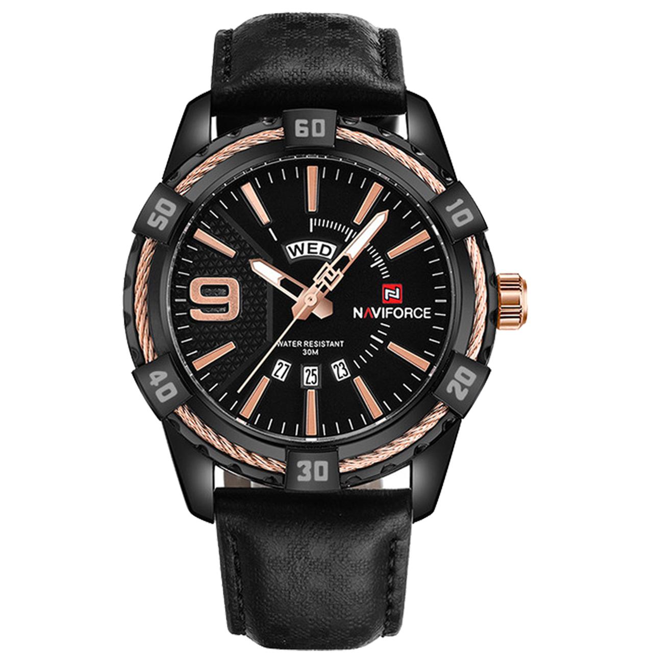 کد تخفیف                                      ساعت مچی عقربه ای مردانه نیوی فورس مدل NF9117M BRG
