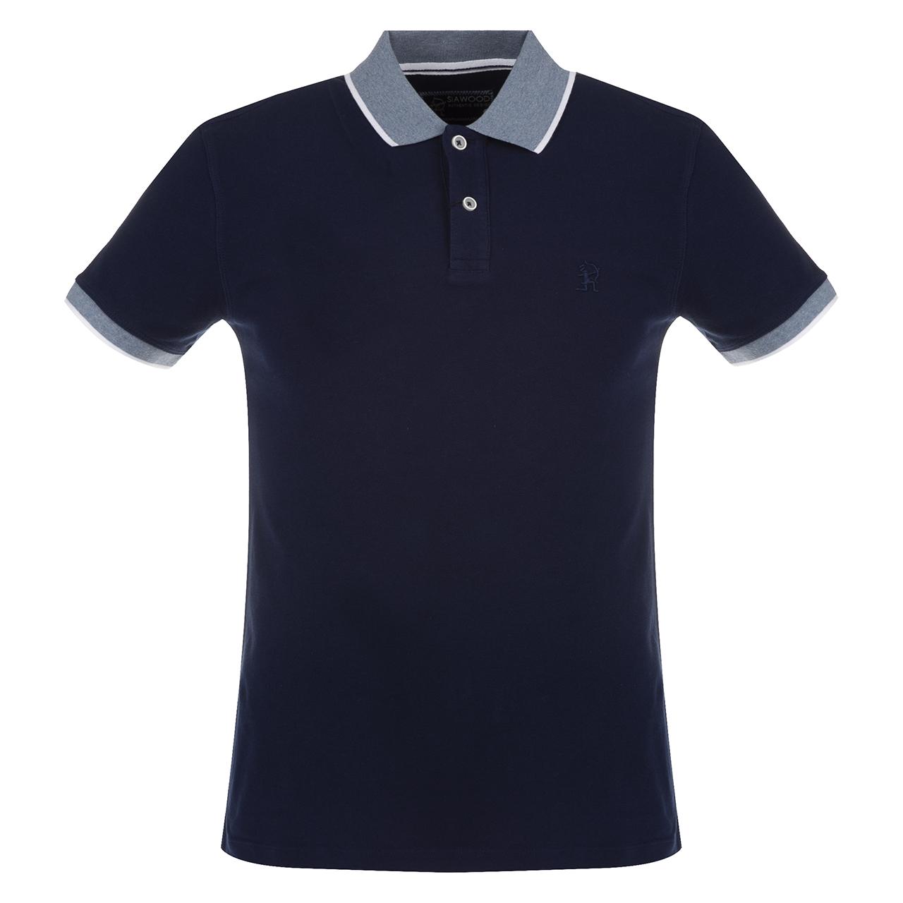 پولو شرت مردانه سیاوود مدل POLO-62811-62811 کد S0180 رنگ سرمه ای