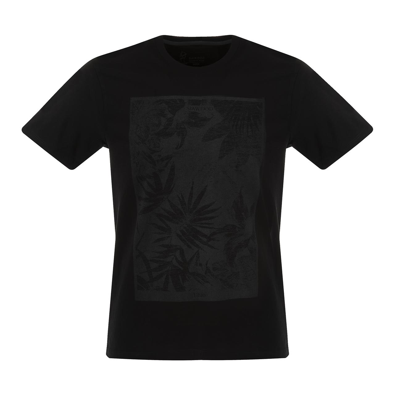 تی شرت مردانه سیاوود مدل CNECK-P1-62815 کد S0006 رنگ مشکی