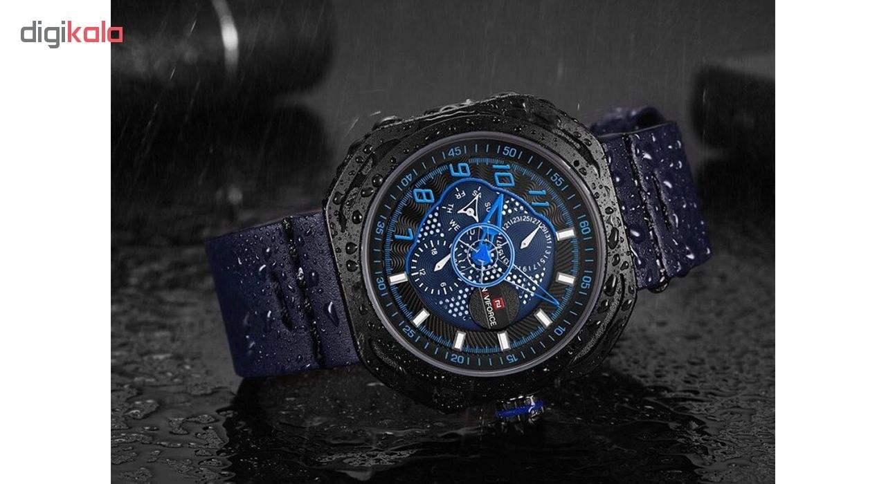 کد تخفیف                                      ساعت مچی عقربه ای مردانه نیوی فورس مدل NF9141M BBEBE