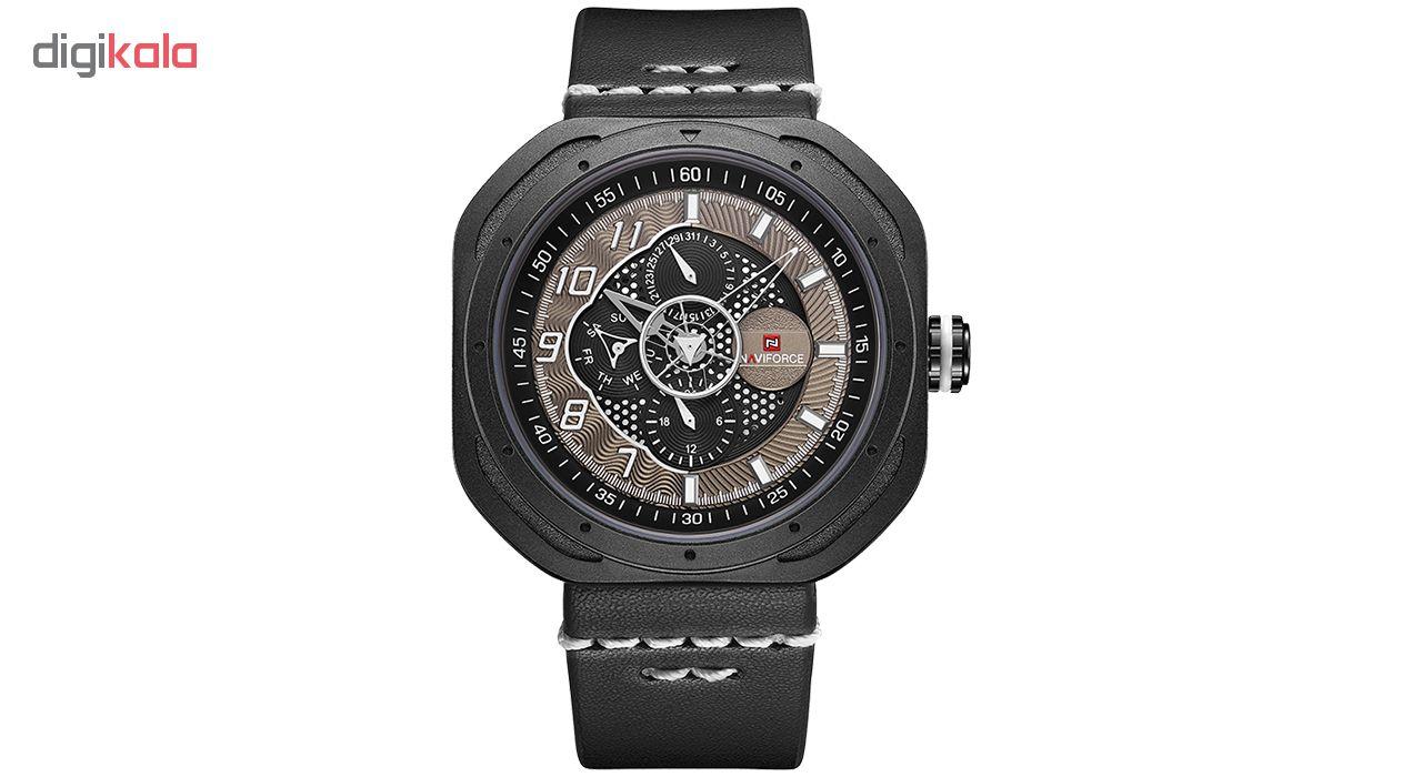 خرید ساعت مچی عقربه ای مردانه نیوی فورس مدل NF9141BWB