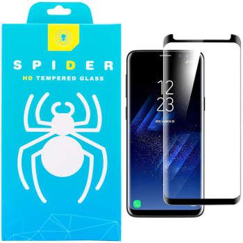 محافظ صفحه نمایش 3D اسپایدر مدل SH23 مناسب برای گوشی موبایل سامسونگ Galaxy S8