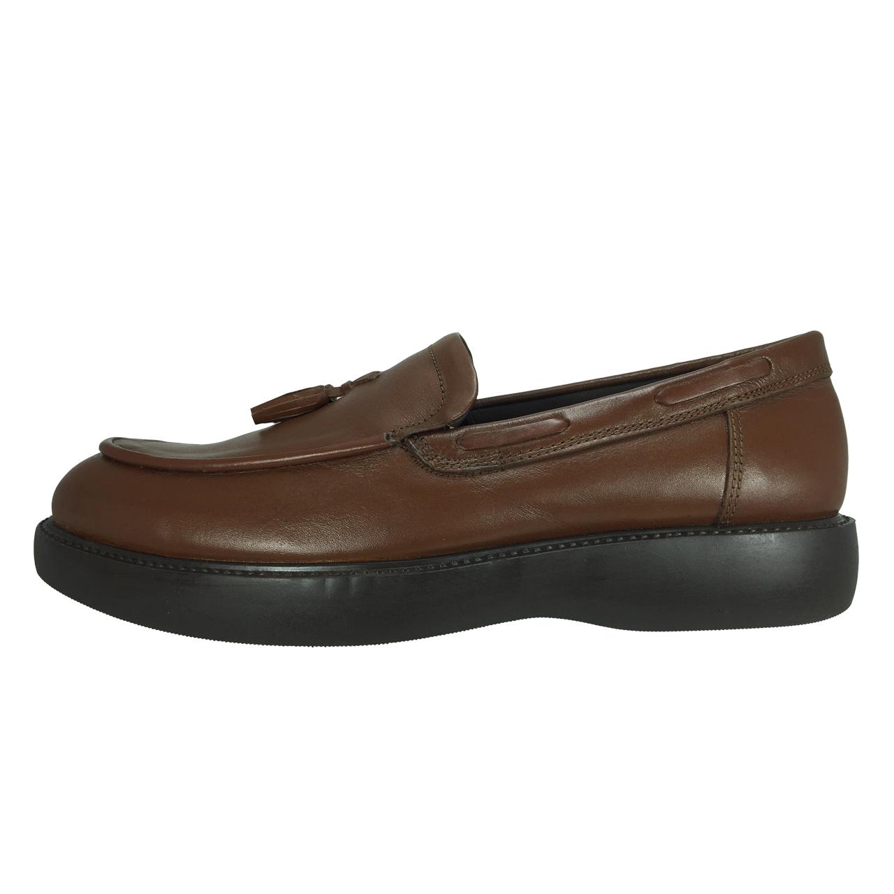 کفش مردانه مدل B256 رنگ عسلی