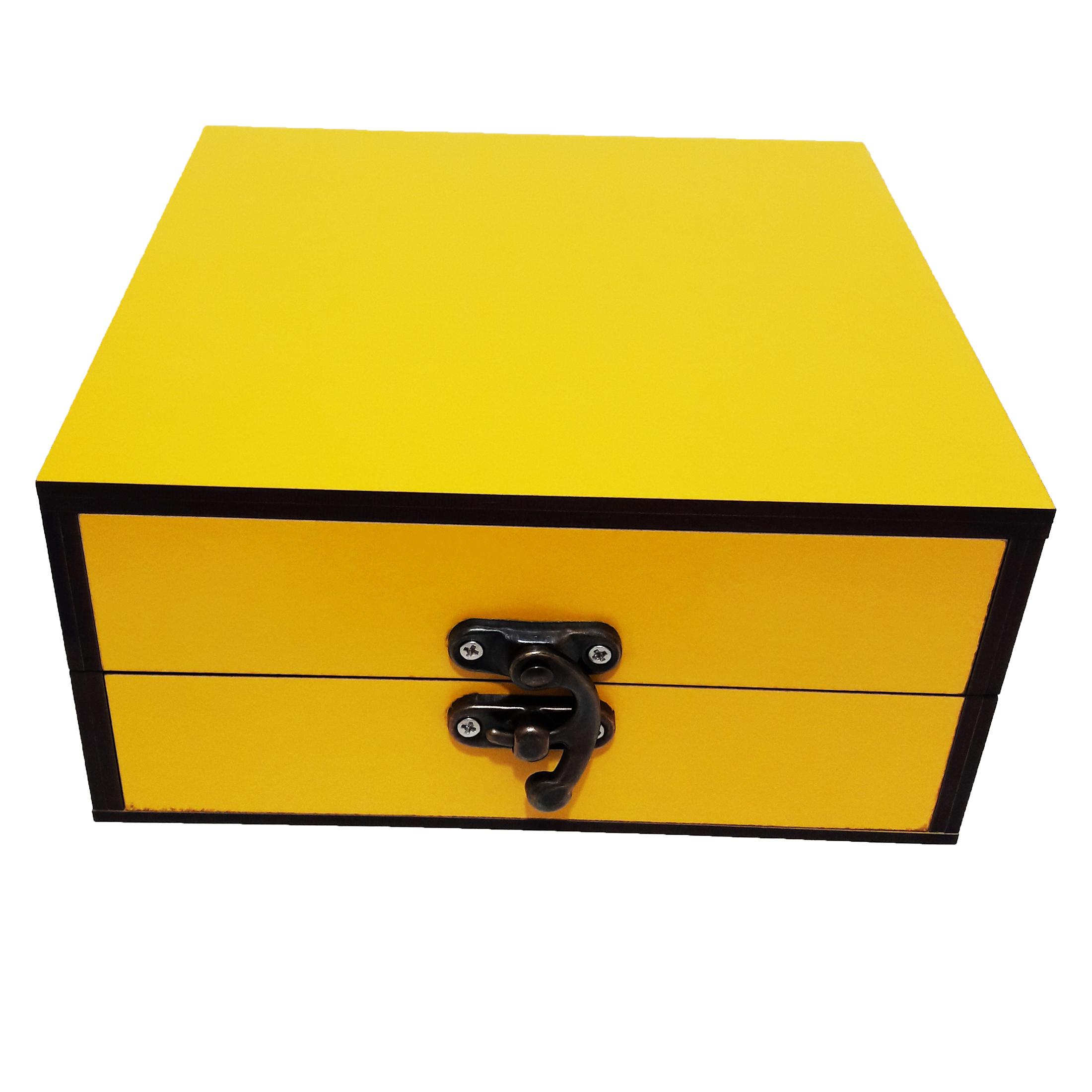 جعبه هدیه چوبی کادو آیهان باکس مدل 39