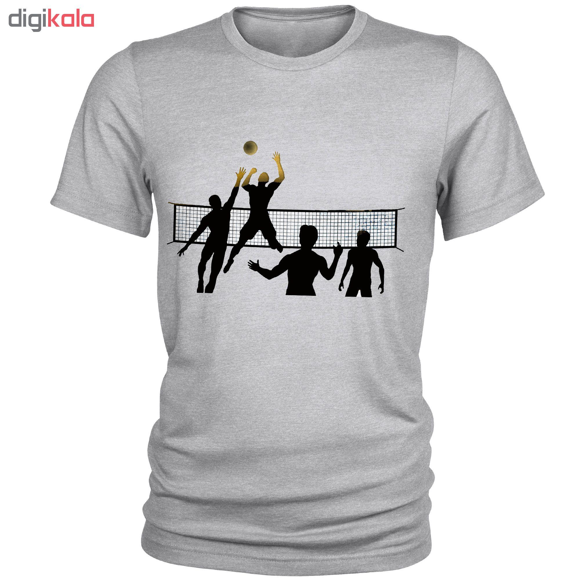 تیشرت مردانه طرح والیبال کد C05