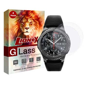 محافظ صفحه نمایش لایونکس مدل UPS مناسب برای ساعت سامسونگ Galaxy Watch 42mm بسته دو عددی