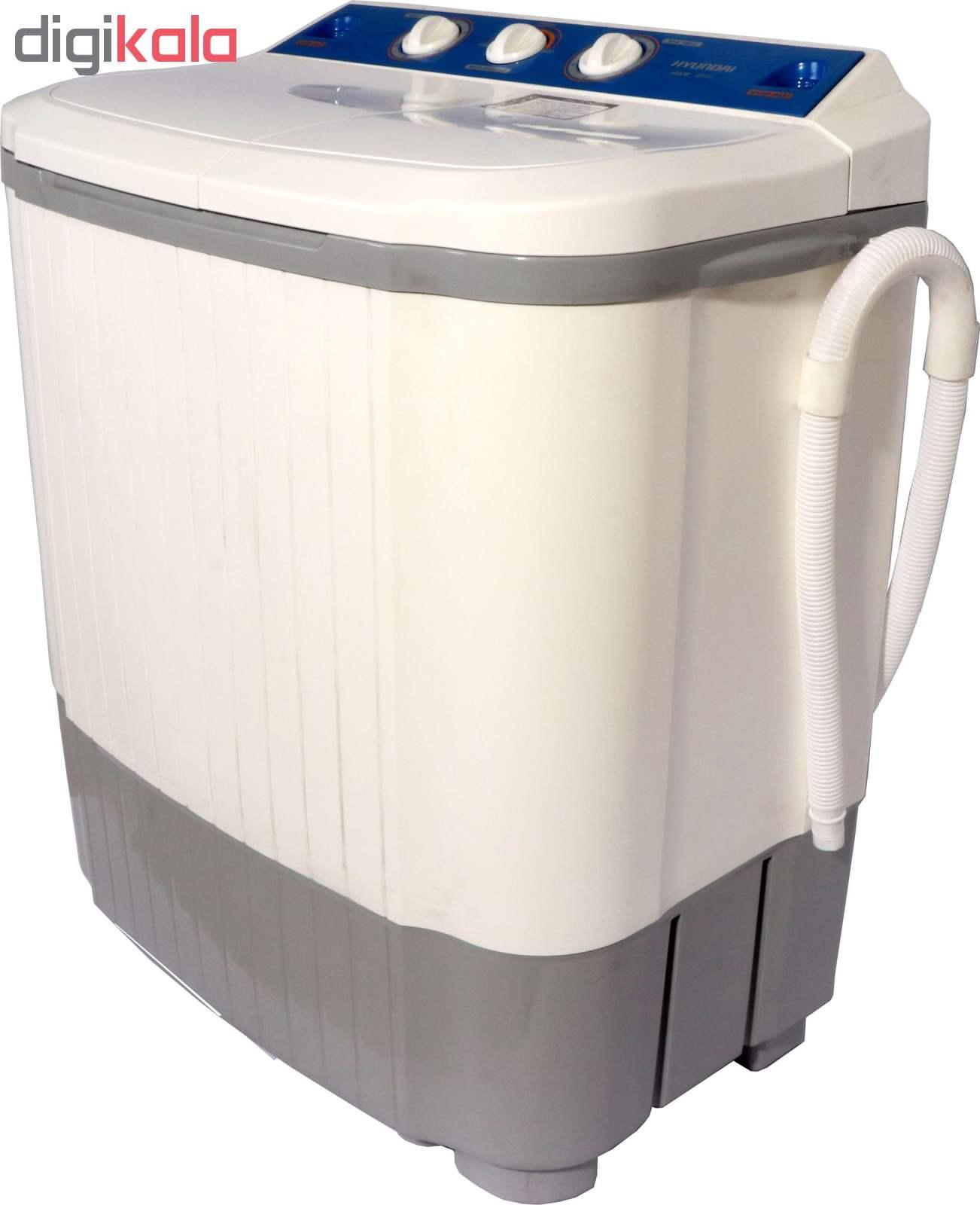 ماشین لباسشویی هیوندای مدل HWM-4500 ظرفیت 4.5 کیلوگرم main 1 1