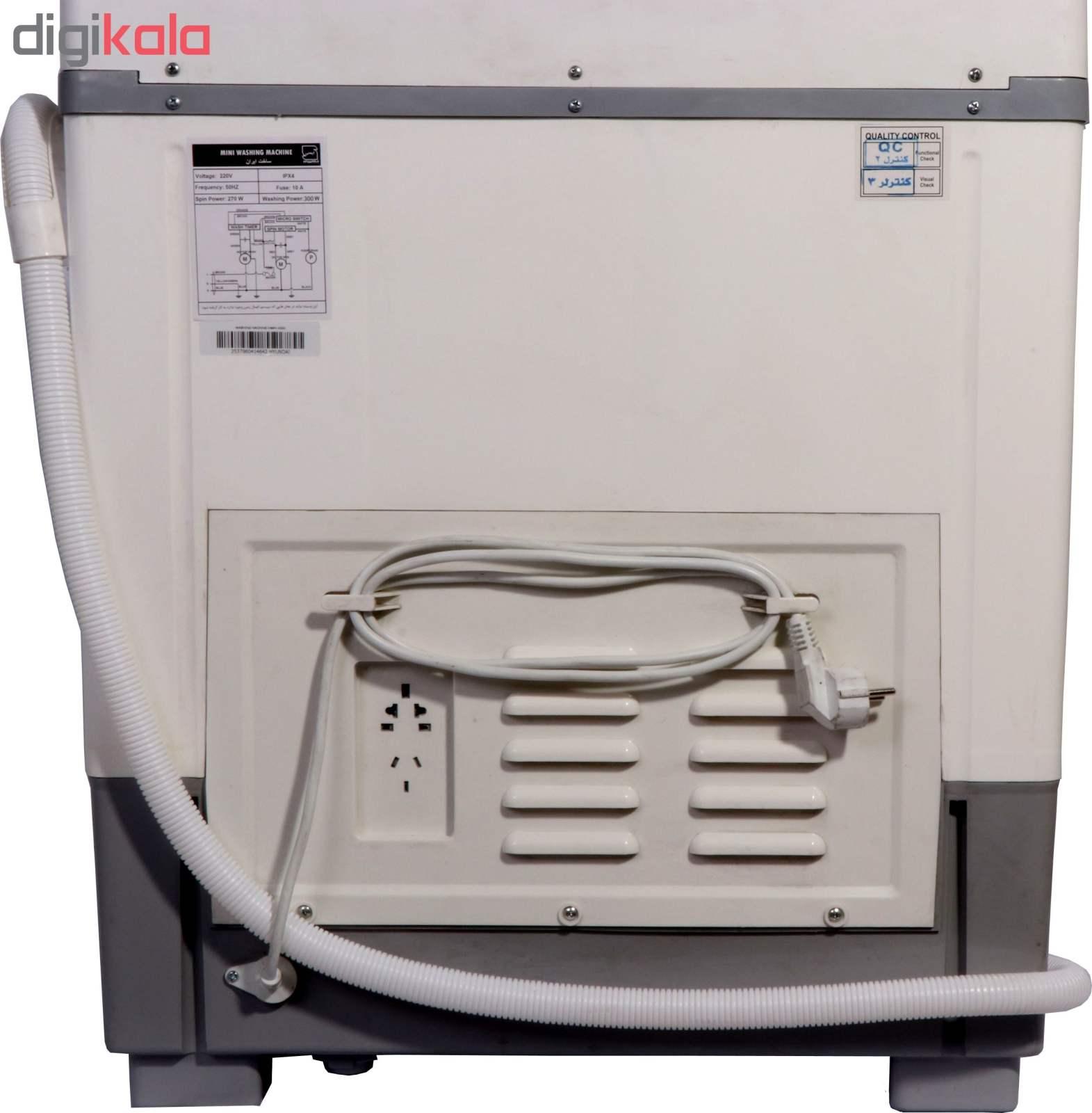 ماشین لباسشویی هیوندای مدل HWM-4500 ظرفیت 4.5 کیلوگرم thumb 8