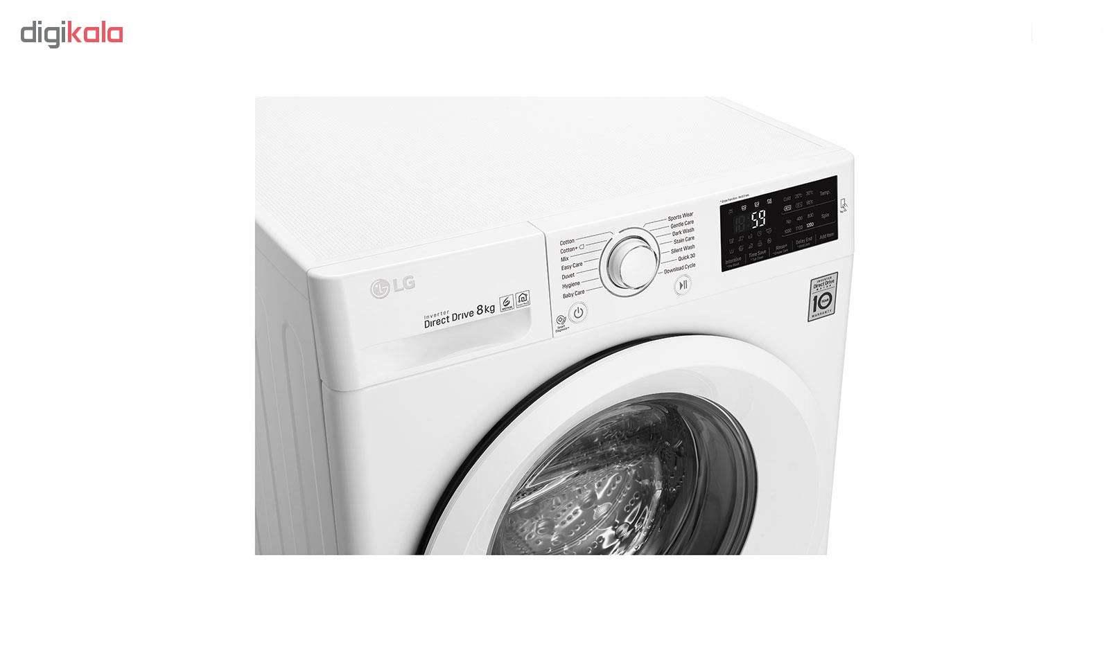 ماشین لباسشویی ال جی مدل WM-821NW ظرفیت 8 کیلوگرم main 1 3