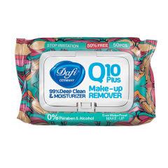 دستمال مرطوب دافی مدل Q10 PLUS STOP IRRIATION بسته 50 عددی