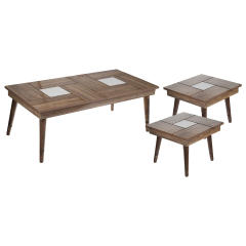 میز جلومبلی ویولت طرح 1 مجموعه 3 عددی