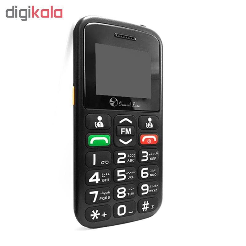 گوشی موبایل جی ال ایکس مدل General Luxe P3 دو سیم کارت main 1 3