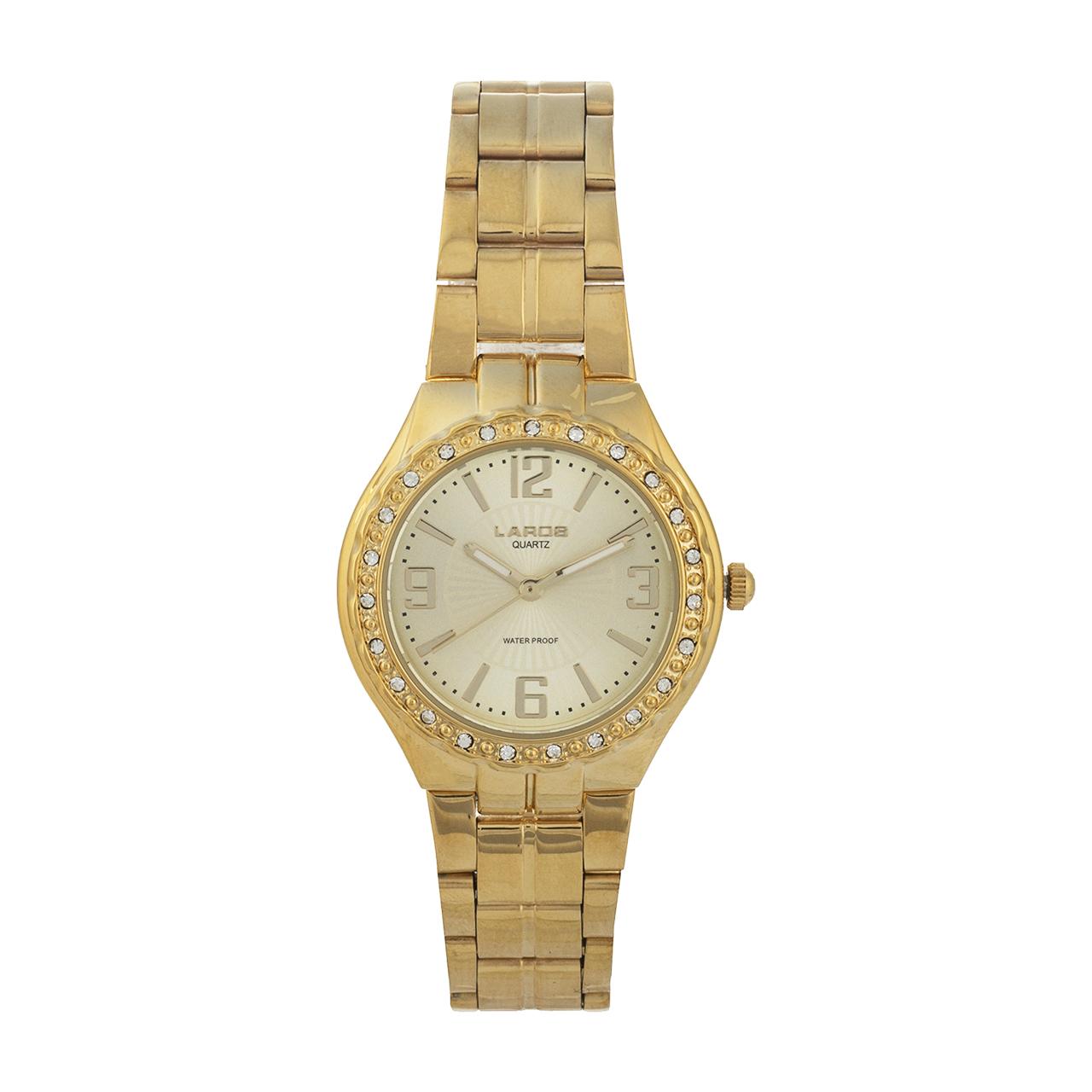 ساعت مچی عقربه ای زنانه لاروس مدل 051780008