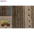 فرش ماشینی ساوین طرح ۴۰۰۲ زمینه شکلاتی thumb 3