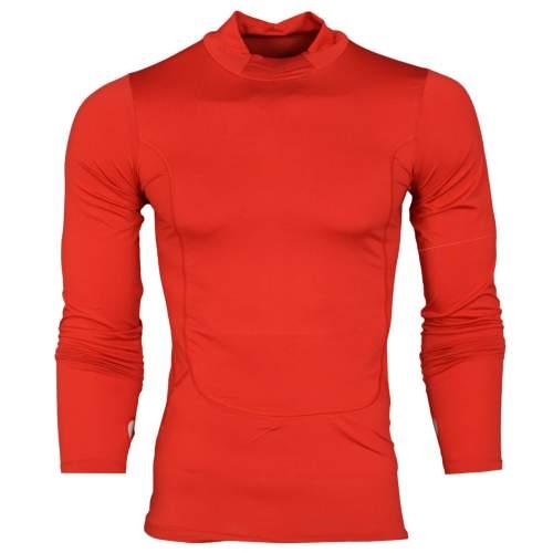 تیشرت آستین بلند ورزشی مردانه مدل N501 رنگ قرمز