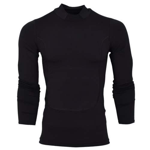 تیشرت آستین بلند ورزشی مردانه مدل N503رنگ مشکی