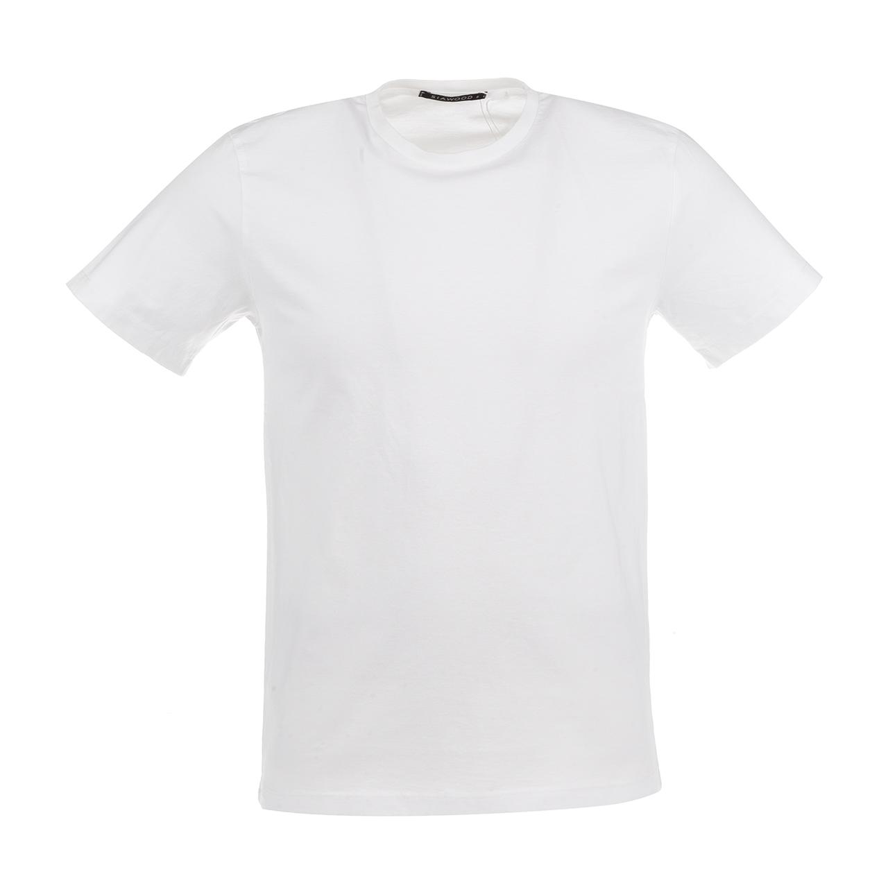 تی شرت مردانه سیاوود مدل CNECK-SIMPIE-62814 کد W0000 رنگ سفید