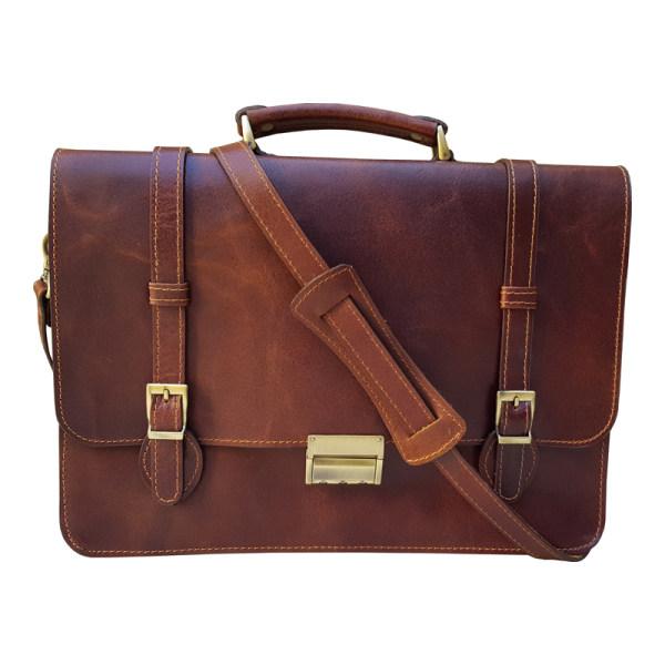 کیف اداری مردانه چرم دیاکو مدل rostik-100 تک سایز