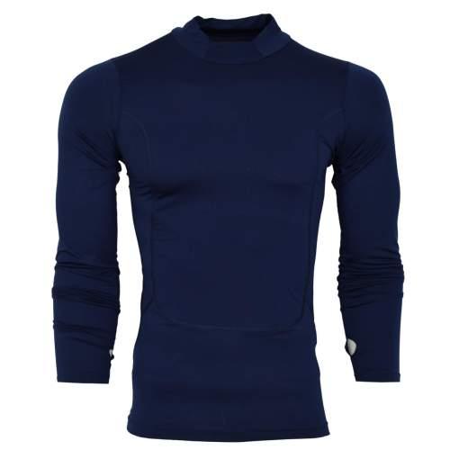 تیشرت آستین بلند ورزشی مردانه مدل N505 رنگ سورمه ای