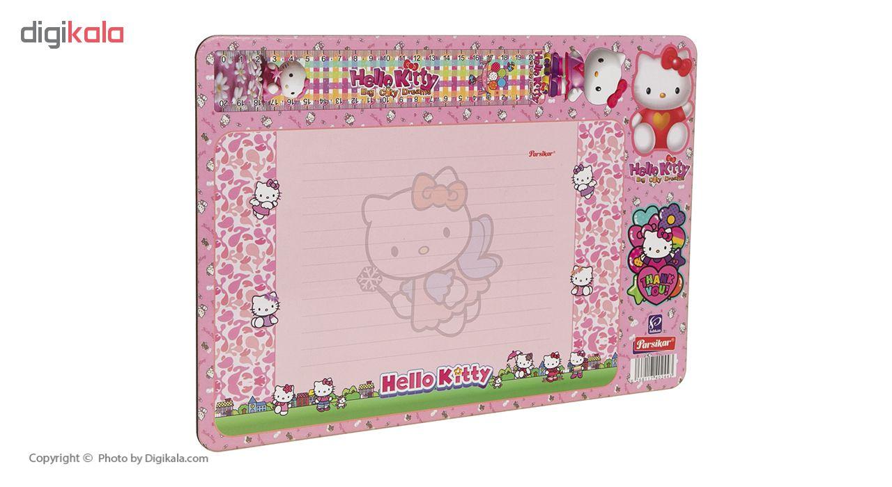 تخته وایت برد پارسیکار مدل Hello Kitty