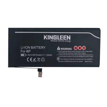 باتری موبایل کینگ لین مدل business ظرفیت 2915 میلی آمپر ساعت مناسب برای گوشی موبایل اپل آیفون 6plus