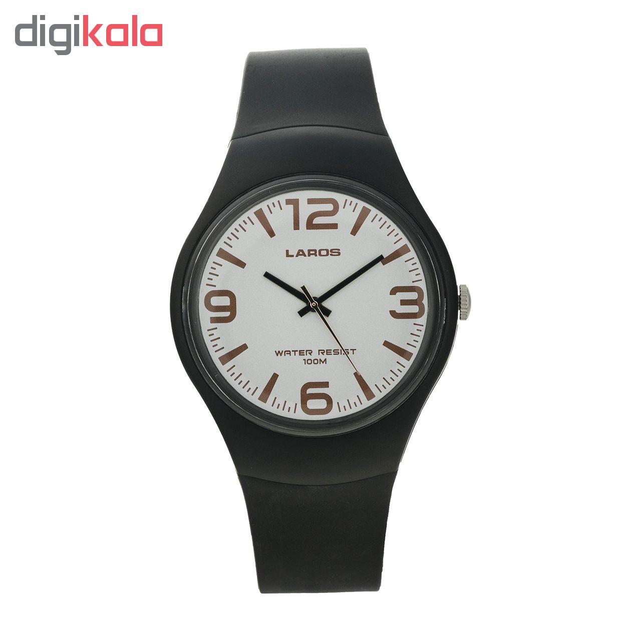 خرید ساعت لاروس عقربه ای مردانه مدل AQ1066A-0AAX-D8