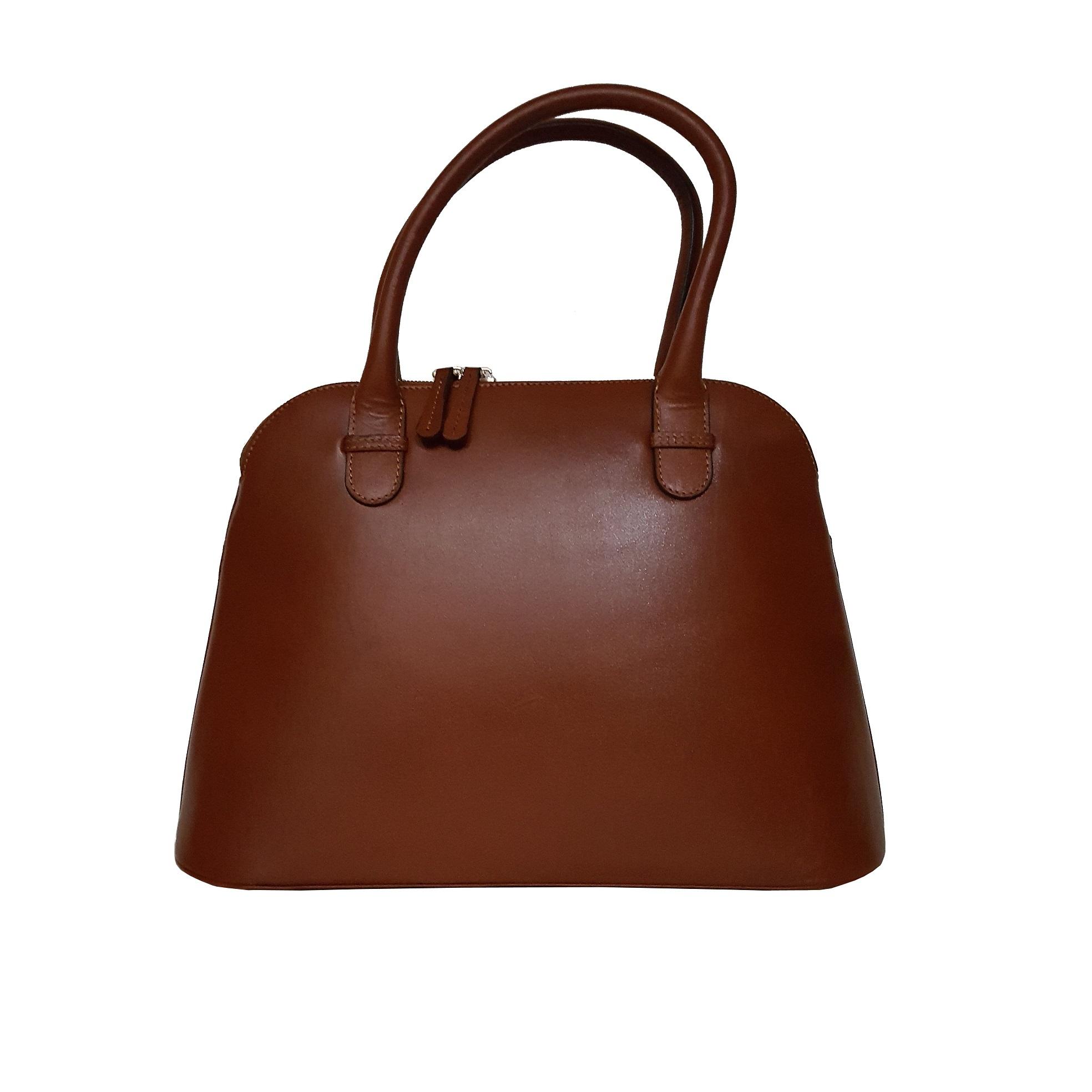کیف دستی زنانه مدل 3003 رنگ قهوه ای روشن