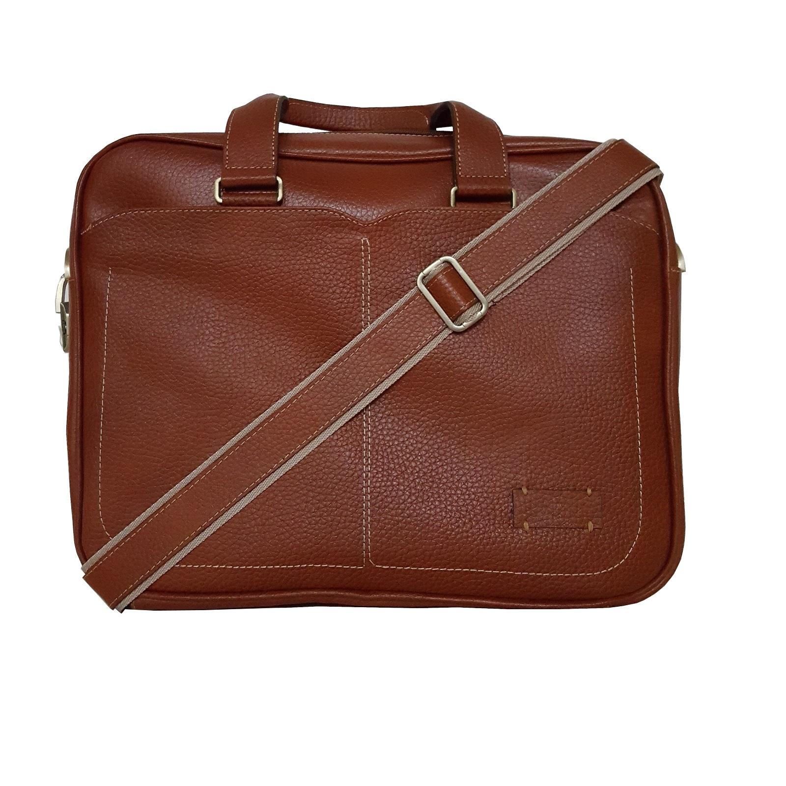 قیمت کیف اداری  مردانه چرم طبیعی  مدل 3005