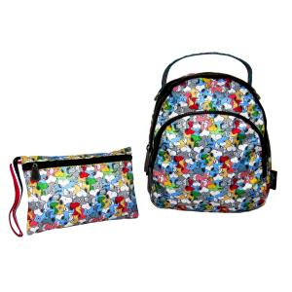 ست کیف دخترانه مینی گرل طرح اسنوپی کد SK-2155 تک سایز