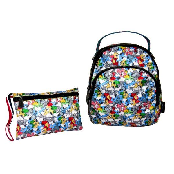 ست کیف دخترانه مینی گرل طرح اسنوپی کد SK-2155